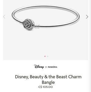 Pandora Jewelry - Disney, Beauty and the beast bangle